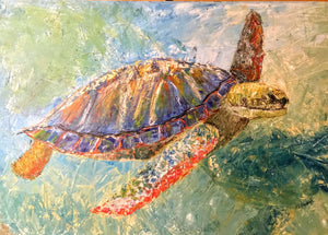 Sea Turtle Paint Kit (8x10 or 11x14)
