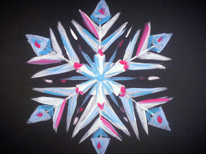 Snowflake Paint Kit (8x10 or 11x14)