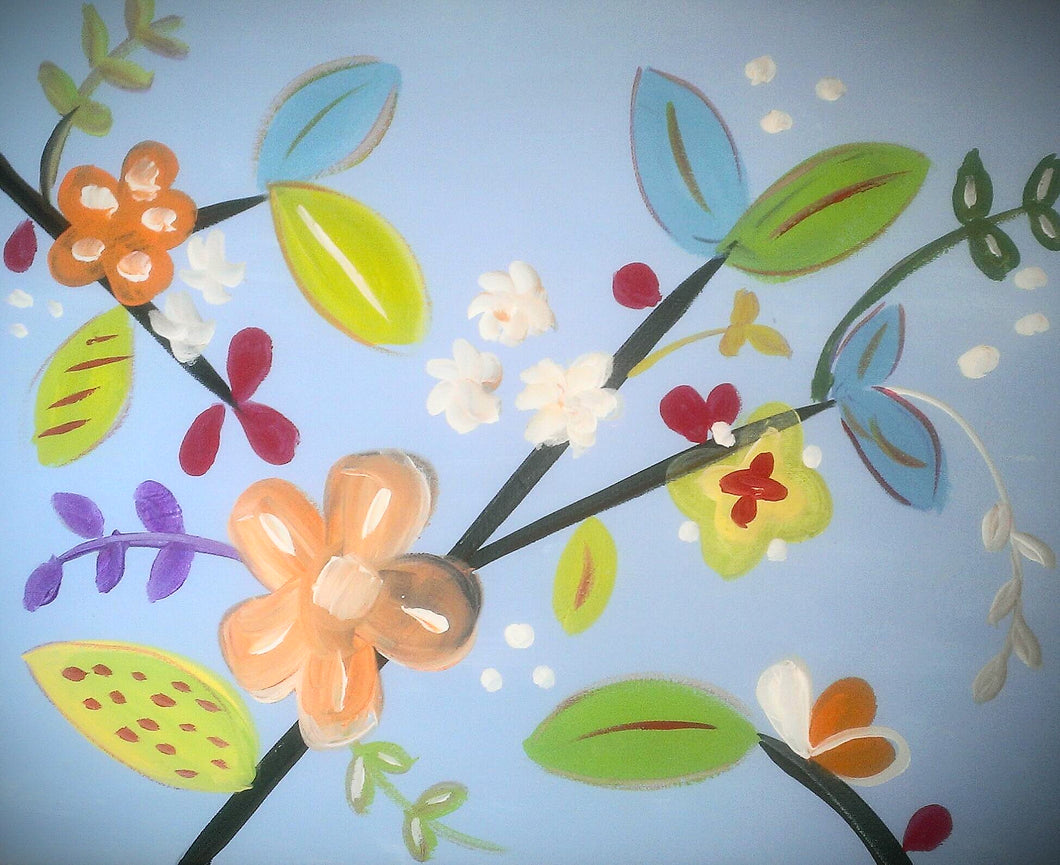 Spring Twigs Paint Kit (8x10 or 11x14)