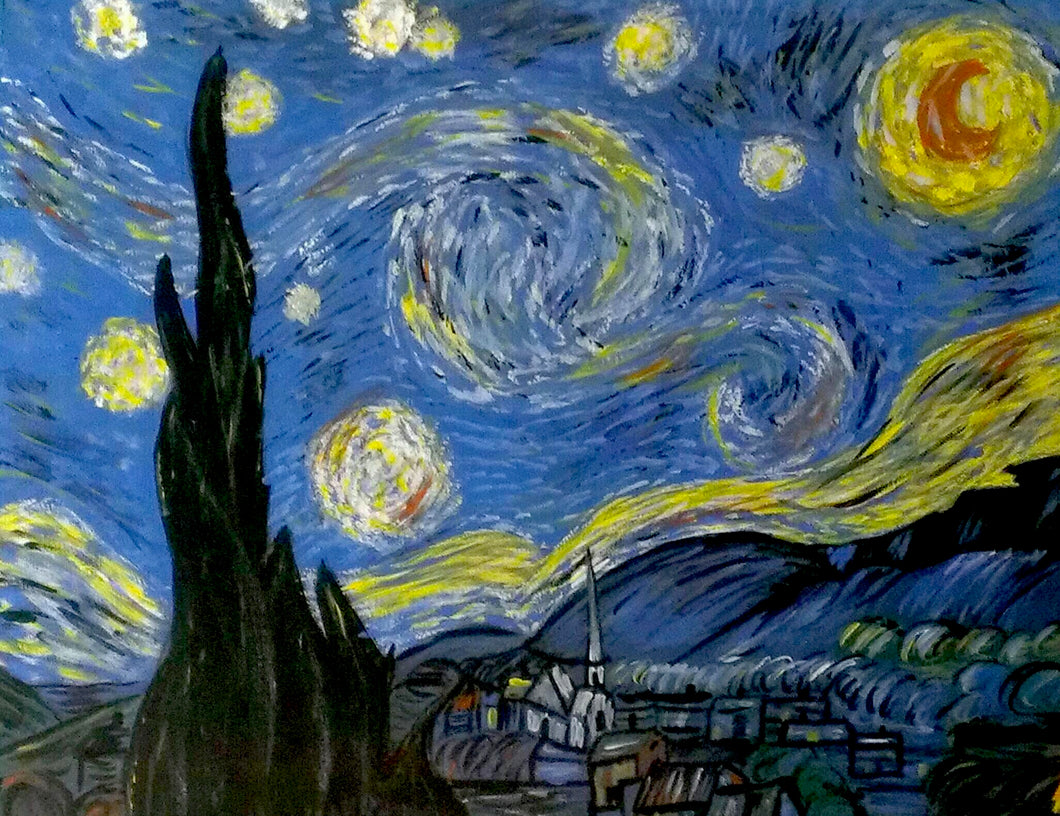 Starry Night Paint Kit (8x10 or 11x14)