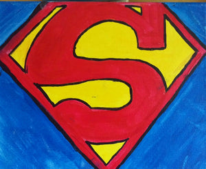 Superman Paint Kit (8x10 or 11x14)