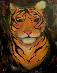 Tiger Paint Kit (8x10 or 11x14)