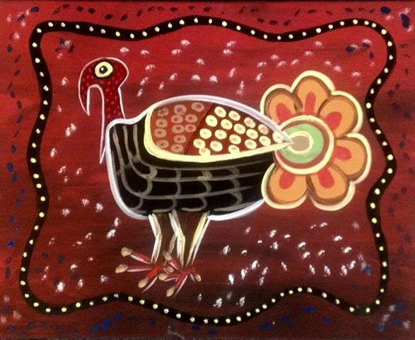 Turkey Paint Kit (8x10 or 11x14)