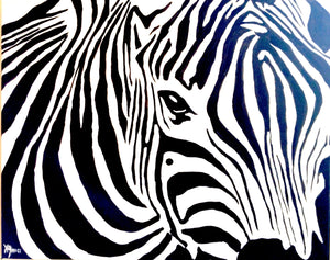Zebra Paint Kit (8x10 or 11x14)
