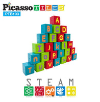 103 Piece Bristle Alphabet and Number Set