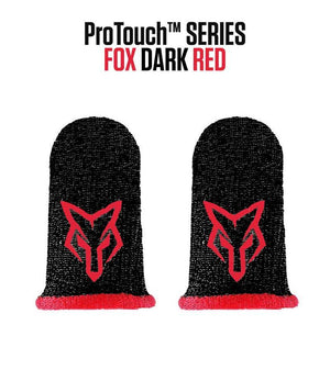 ProTouch™ FOX compression gloves for gaming | DarkRed