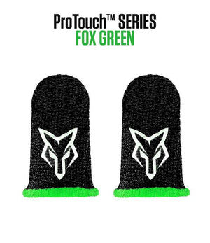 ProTouch™ FOX compression gloves for gaming | Green