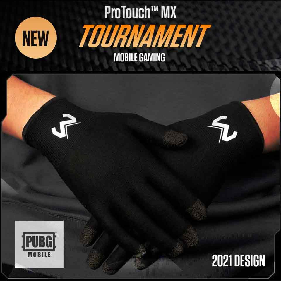 ProTouch™ MX gaming gloves for sweaty hands