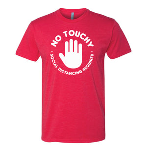No Touchy Tee - Red