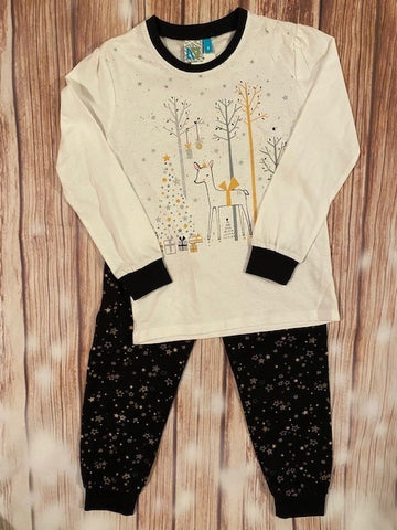 Deer Christmas Pajama Set
