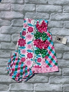 Four Bows infant 2pc Dress