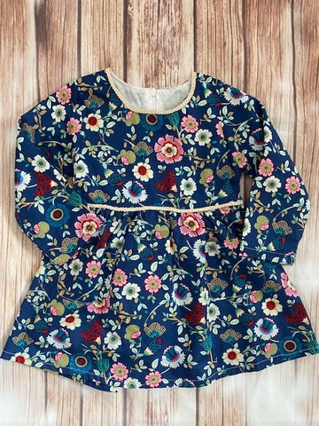 Girl's Floral Dress/Tunic