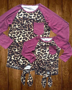 Mommy & Me Leopard Tops