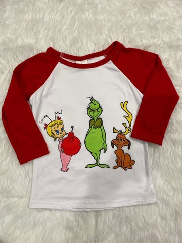 Dr. Seuss' Christmas Grinch Shirt