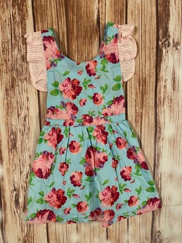 Ruffle Butts Floral Dress