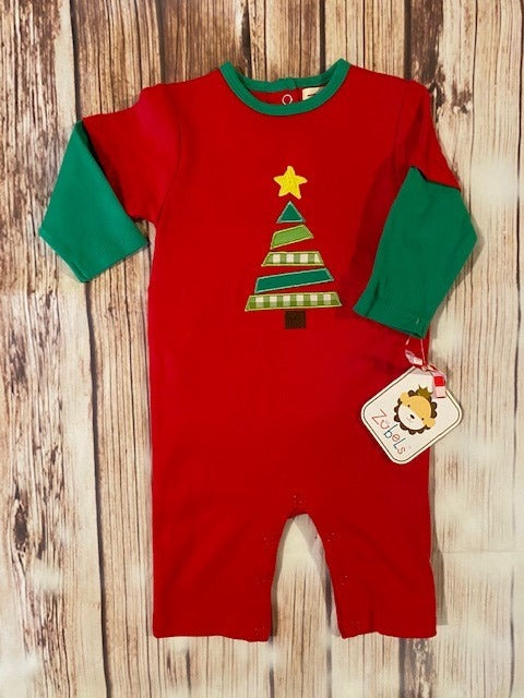 Zubels Christmas Tree Boy's Outfit