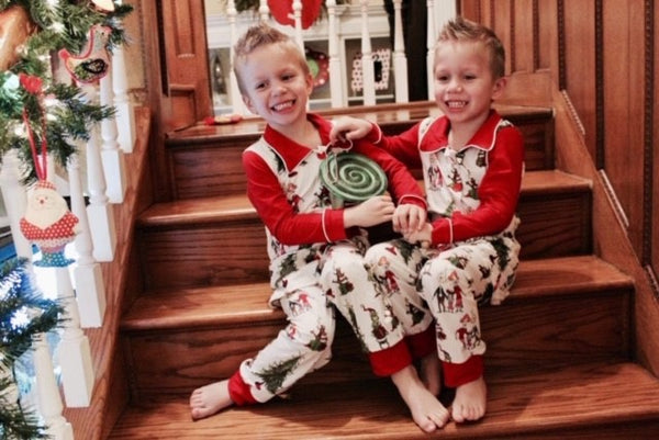 Boy's Grinch Christmas Pajamas