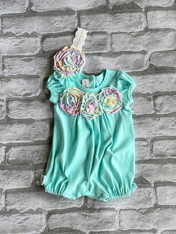 Infants Isobella & Chloe Sherbet Two Piece Set