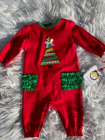 Zubels Christmas Tree Girl's Outfit