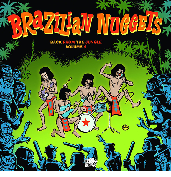 Brazilian Nuggets-Back From The Jungle VOL 4 LP