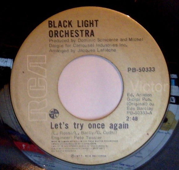 Black Light Orchestra - Let's Try Once Again