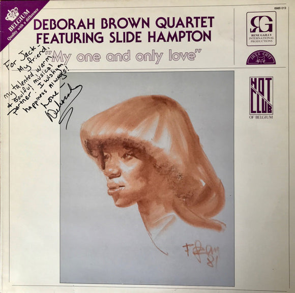 Deborah Brown Quartet - My One And Only Love
