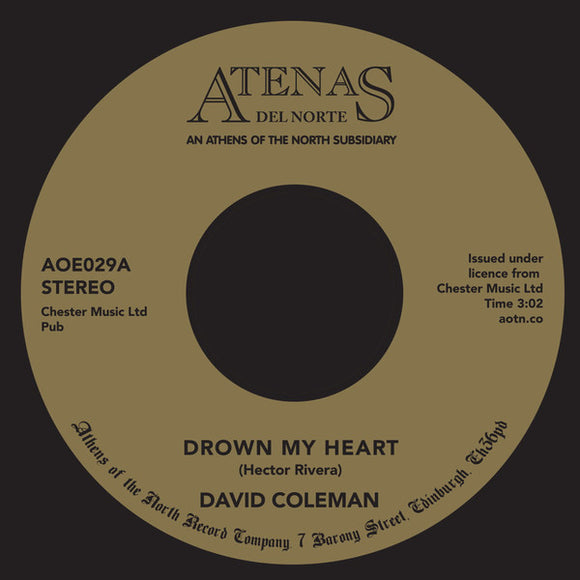 David Coleman - Drown My Heart / My Foolish Heart