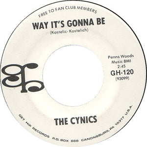 The Cynics - Way It's Gonna Be / Roadrunner