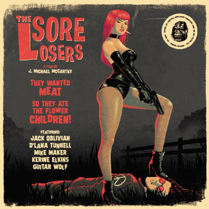 Various - The Sore Losers - A Film By J. Michael McCarthy