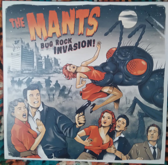 The Mants - Bug Rock Invasion!