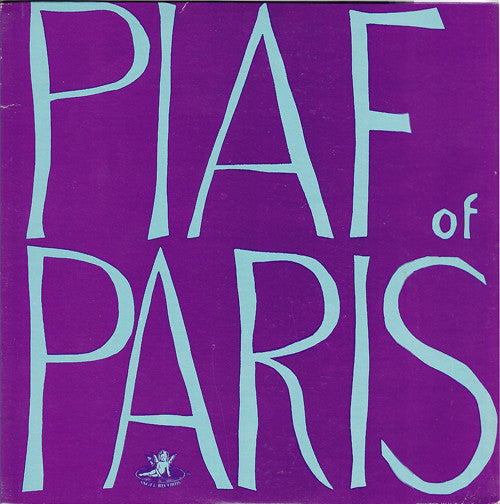 Piaf Of Paris