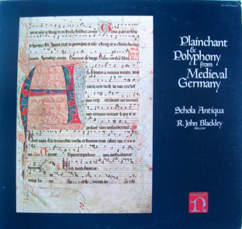 Plainchant & Polyphony From Medieval Germany