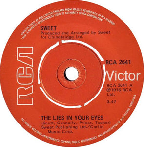 The Sweet - The Lies In Your Eyes