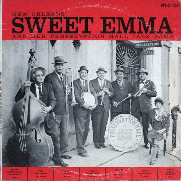 Sweet Emma And Her Preservation Hall Jazz Band - New Orleans' Sweet Emma And Her Preservation Hall Jazz Band