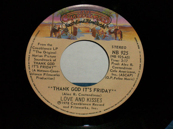 Love & Kisses - Thank God It's Friday