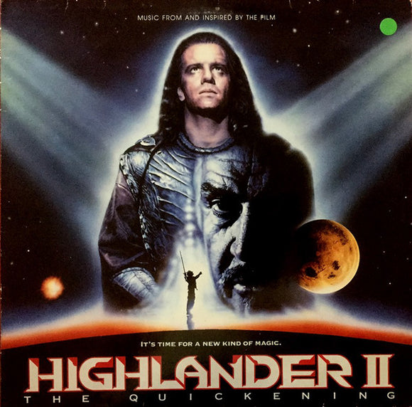 Various - Music From And Inspired By The Film Highlander 2 - The Quickening