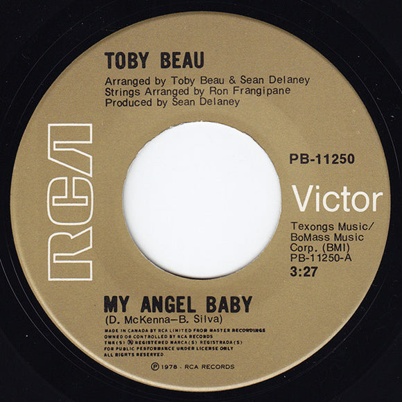 Toby Beau - My Angel Baby