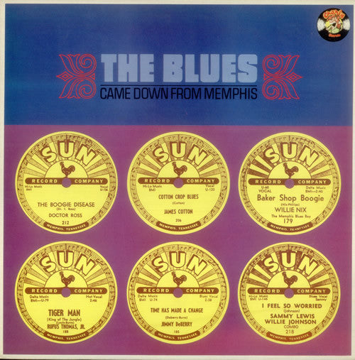 Various - The Blues Came Down From Memphis
