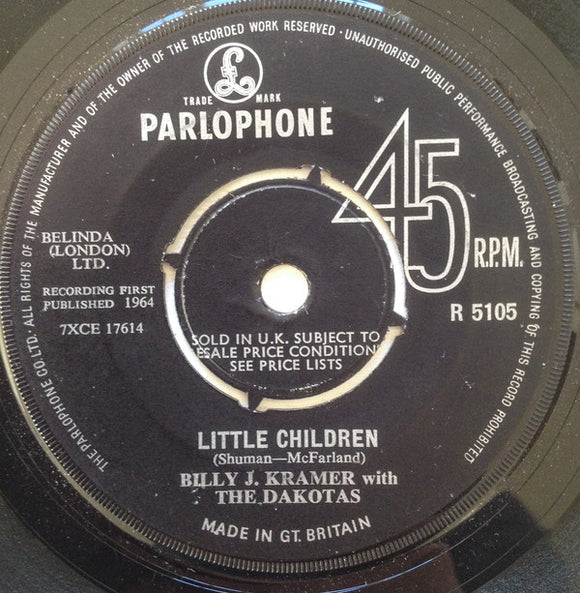 Billy J. Kramer & The Dakotas - Little Children