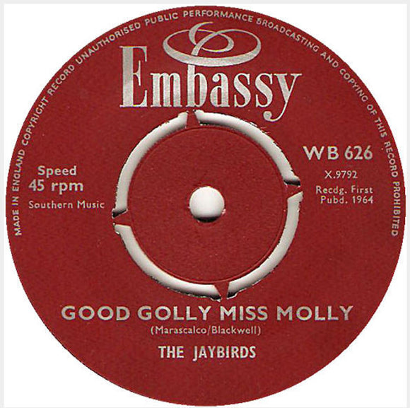 Good Golly Miss Molly / A World Without Love