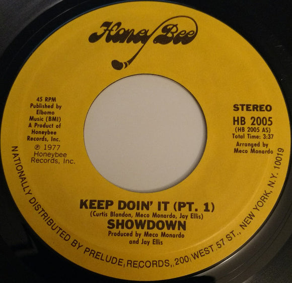 Showdown - Keep Doin' It