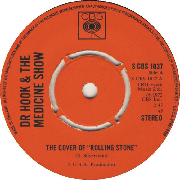 Dr. Hook & The Medicine Show - The Cover Of