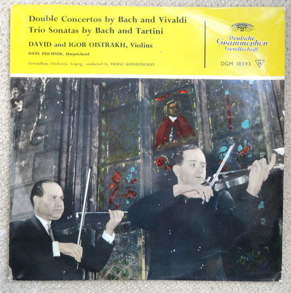 Double Concertos By Bach And Vivaldi, Trio Sonatas By Bach And Tartini