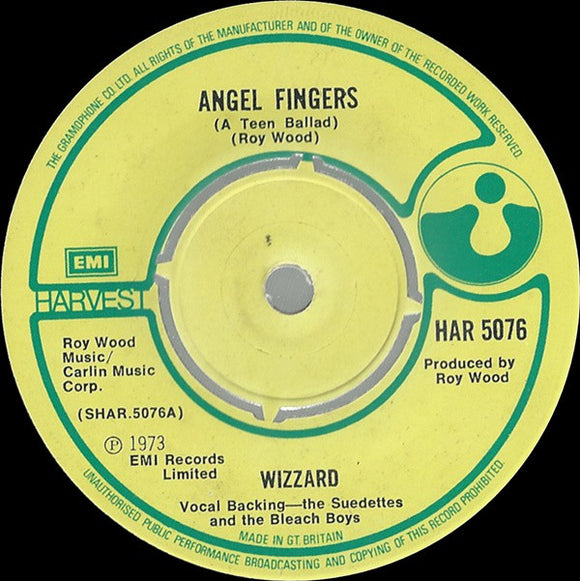Wizzard - Angel Fingers (A Teen Ballad)