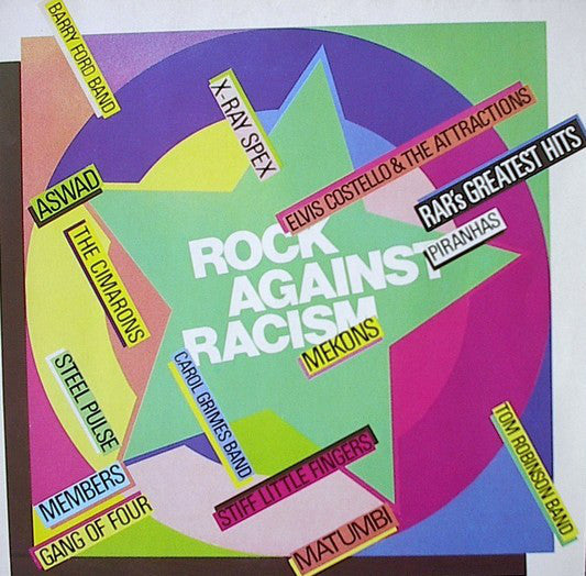 Various - Rock Against Racism - RAR's Greatest Hits