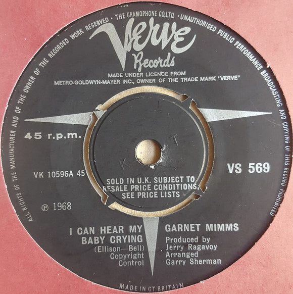 Garnet Mimms - I Can Hear My Baby Crying