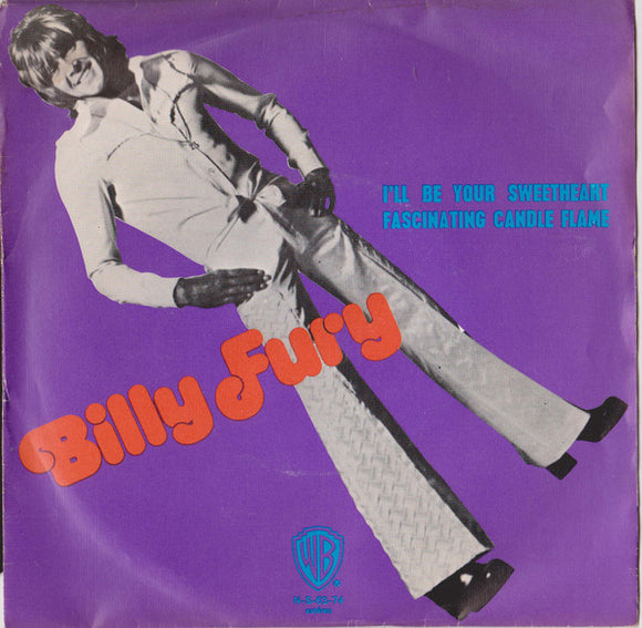Billy Fury - I'll Be Your Sweetheart / Fascinating Candle Flame