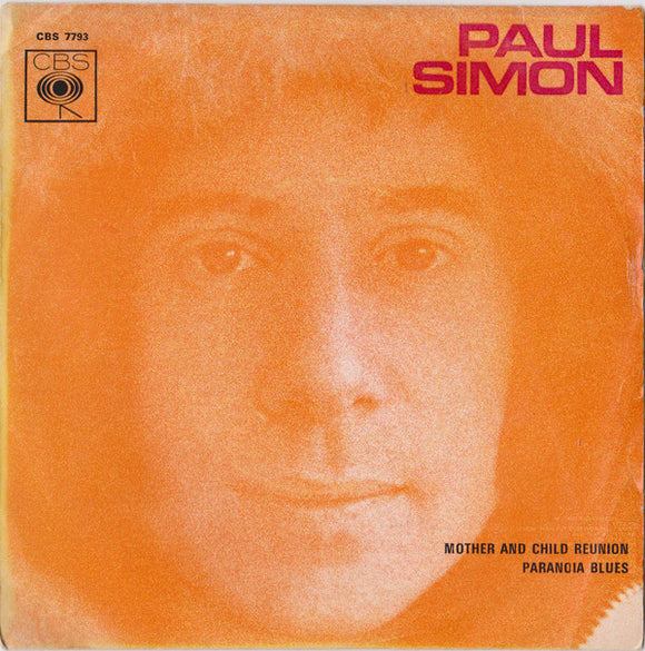 Paul Simon - Mother And Child Reunion / Paranoia Blues
