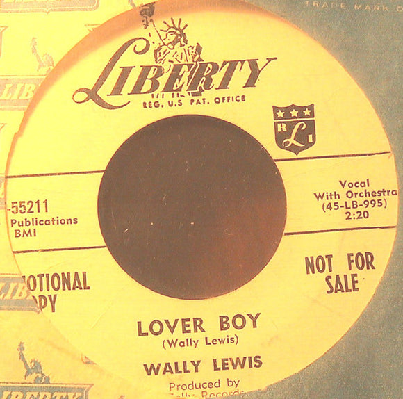 Lover Boy / My Baby Walks All Over Me