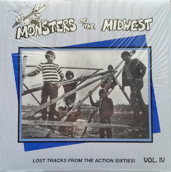 Various - Monsters Of The Midwest Vol. IV (Lost Tracks From The Action Sixties!)